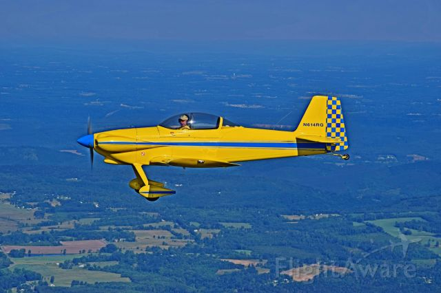 Vans RV-4 (N614RG) - Just another beautiful day of flying in Northeast Alabama