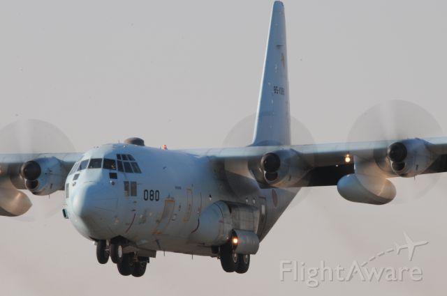 Lockheed C-130 Hercules (85-1080) - 16.Feb.201715:35<br />RWY17<br />Nikon D300 / 4288x2848 / f=29 / 1/80 / Sigma 50-500 1:4.5-6.3 APR HSM /<br />Japan for Schedule