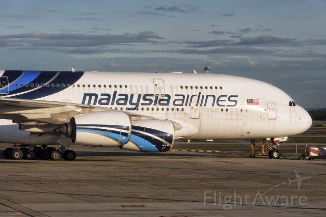 Airbus A380-800 (9M-MNB) - 1st Jan., 2017