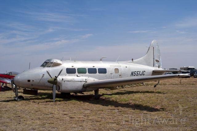 Hawker Siddeley Dove (N551JC)