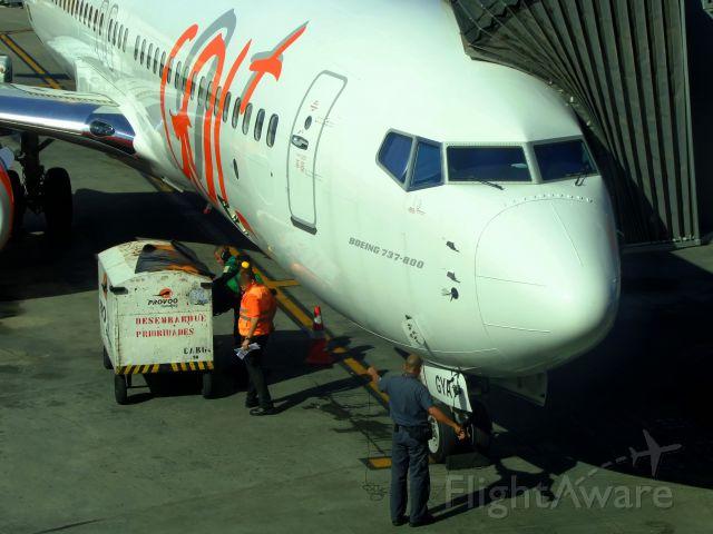 Boeing 737-800 (PR-GYA)