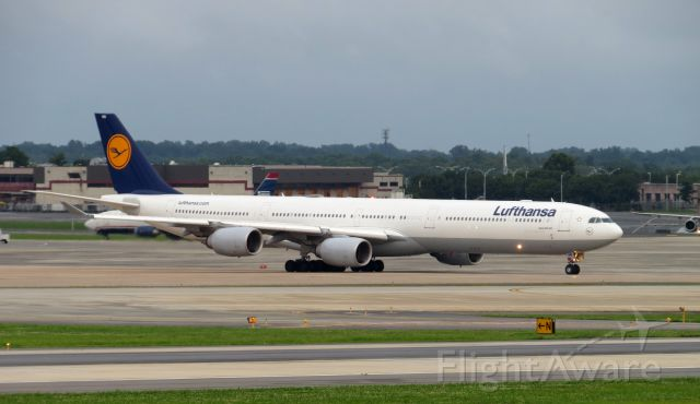 Airbus A340-600 (D-AIHO) - TAKEN JULY 3, 2013