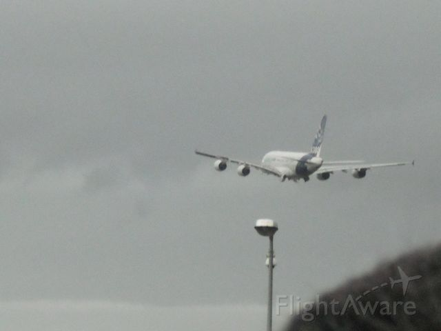 Airbus A380-800 (F-WWOW) - Fly over 31