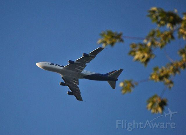 Boeing 747-200 (GTI8341)