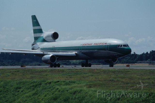 Lockheed L-1011 TriStar (VR-HOA) - Taxing at Narita Intl Airport on 1995/09/09