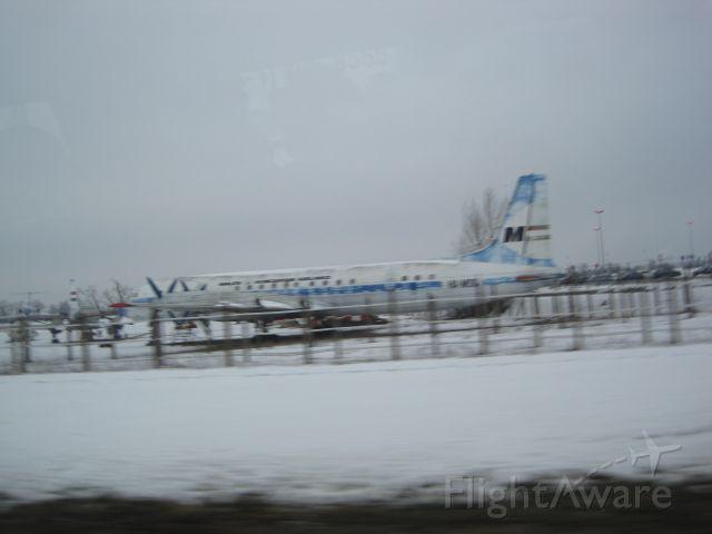 Ilyushin Zebra (HA-MOG) - Out of service planes at Budapest-Ferenc Liszt apt