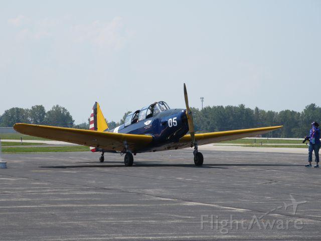 FLEET PT-26 Cornell (N60535) - Fleet PT-26 @ Warbirds Over Warsaw