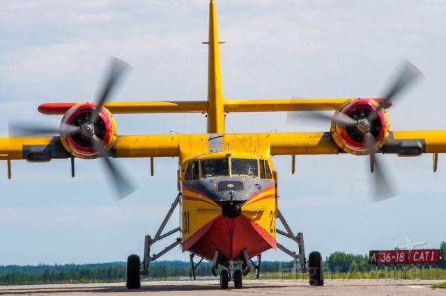 Canadair CL-215 (C-FTXK) - Québec 231
