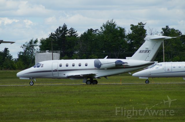 Cessna Citation III (N91KK) - Stopped in at KMPO. Pocono 400 was running.