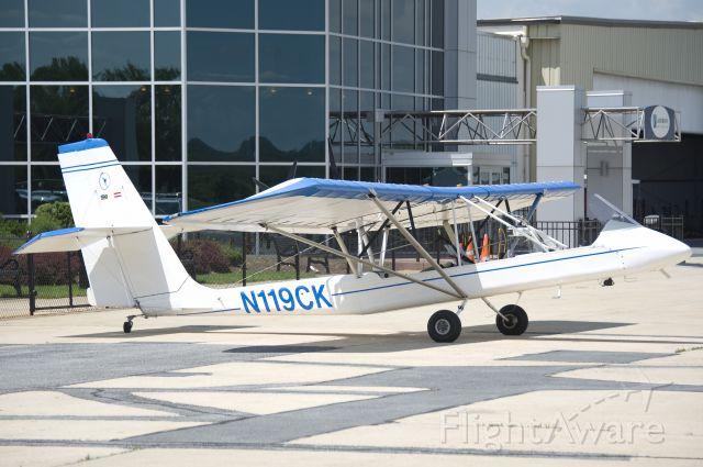 LOCKWOOD Air Cam (N119CK) - Seen at KFDK on 5/21/2011.