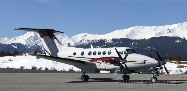 Beechcraft Super King Air 300 (N111SS) - Leadville CO