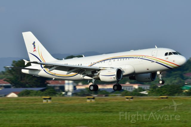 Airbus A319 (9M-NAA) - Malaysia Air Force