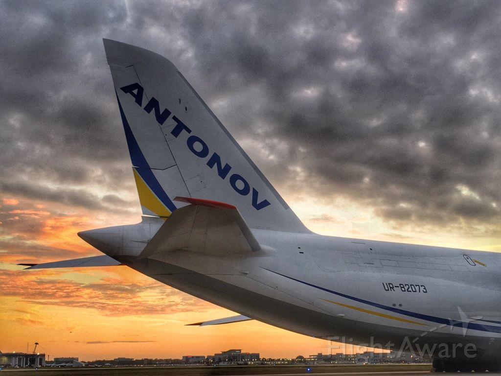 Antonov An-124 Ruslan (UR-82073) - Sunset in TPA.