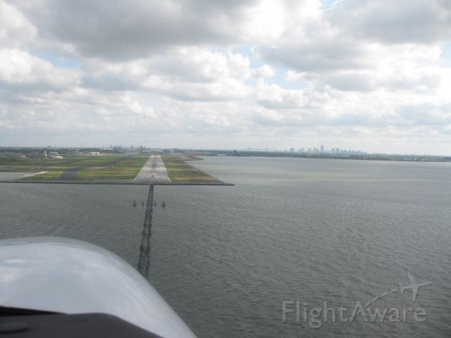 C-GKAS — - Short Final, New Orleans. What a great town!!!