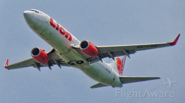 Boeing 737-800 (PK-LOG)