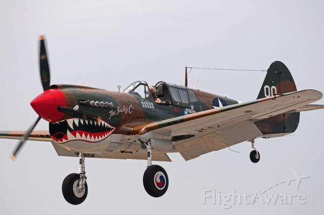 CURTISS Warhawk (NX1232N) - 2012 Memorial Day Weekend<br />Republic Airport Farmingdale NY<br />American Airpower Museum
