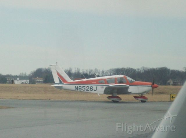 Piper Cherokee (N6526J) - at Lancaster