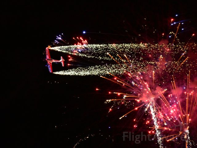 OGMA DHC-1 Chipmunk (N260DC) - Night Airshow at OSH!