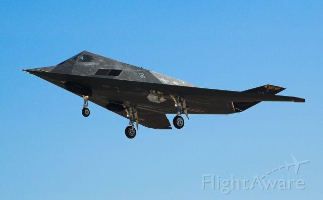 Lockheed Nighthawk — - F-117 from Holloman AFB.  Now retired.