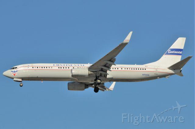 Boeing 737-900 (N75436) - CO. Retro Jet