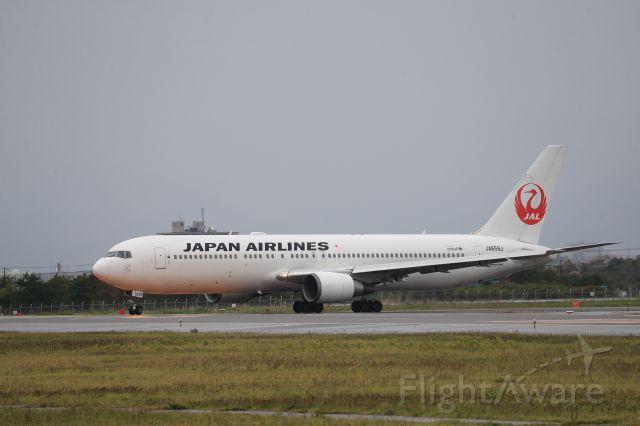 BOEING 767-300 (JA659J) - September 9th 2018:HKD-HND.