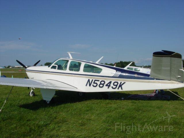 Beechcraft 35 Bonanza (N5849K) - 1965 S-35