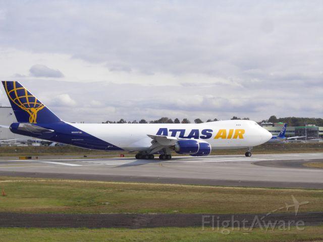 BOEING 747-8 (N852GT) - Test Flight