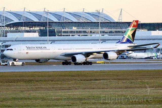 Airbus A340-600 —