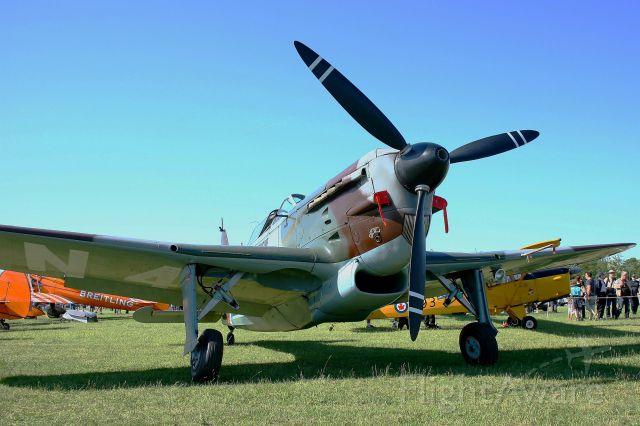 HB-RCF — - Morane Saulnier MS-412 (EKW D-3801), Swiss Historic Aircraft Collection, La Ferté-Alais Airfield (LFFQ)