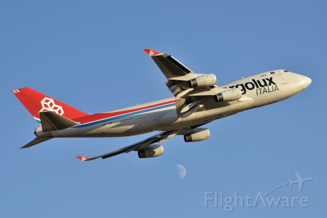 Boeing 747-400 (LX-TCV) - Moon-Shot. Aiming for the stars!