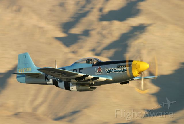North American P-51 Mustang (42-2580) - heritage Flight Mustang