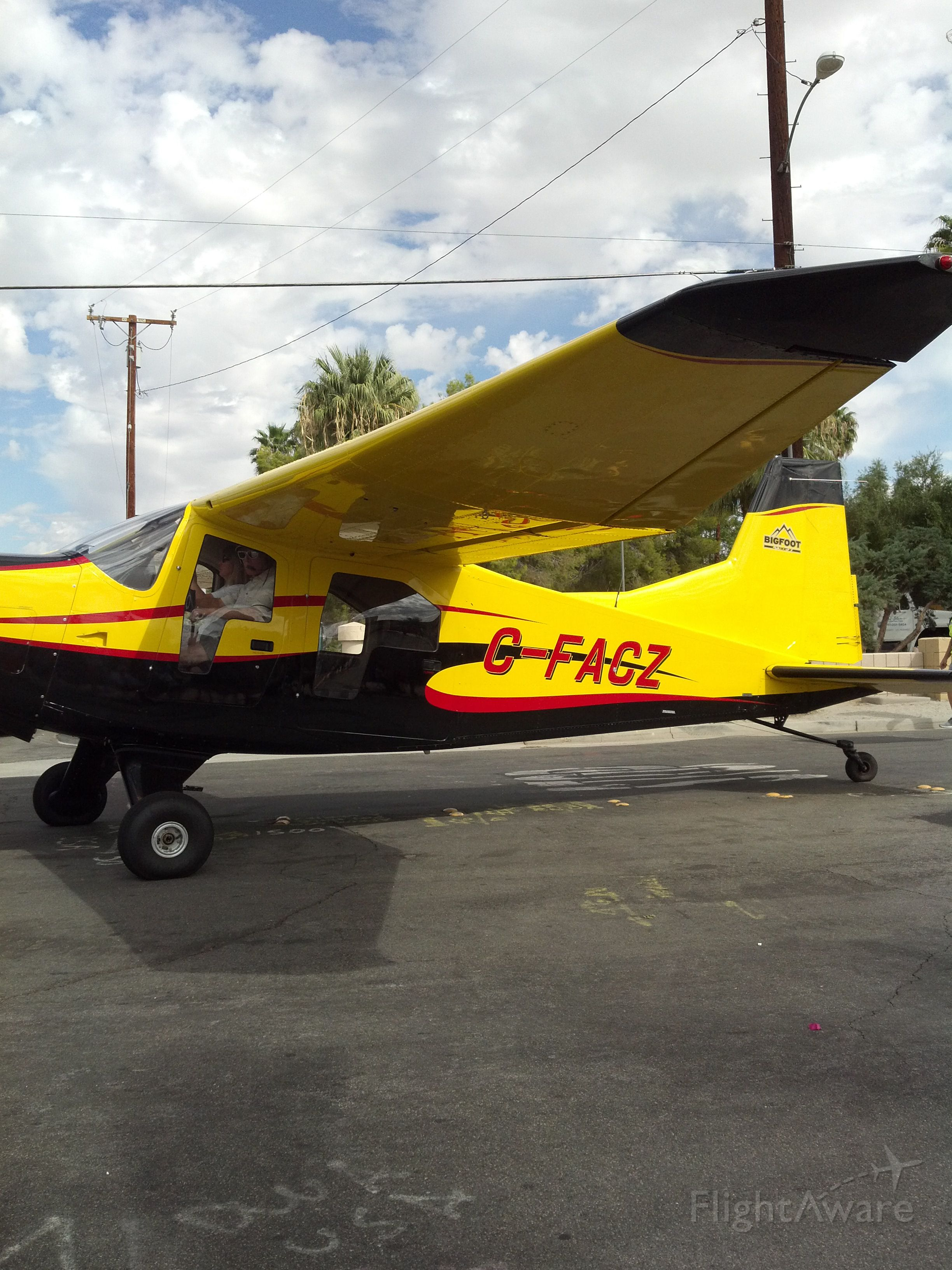 FOUND FBA-2 Bush Hawk (C-FACZ) - 2012 PARADE OF PLANES