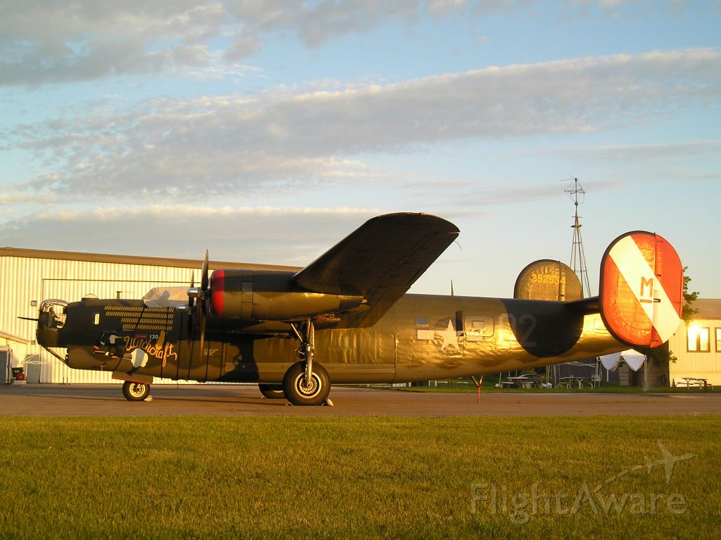 Consolidated B-24 Liberator — - Dawn light on the Collings Foundation B-24, 7-12-08