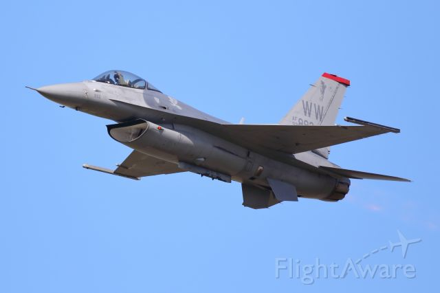 Lockheed F-16 Fighting Falcon (N92893) - US AIR FORCE (MISAWA AIR BASE) PACAF F-16 DEMOTEAM