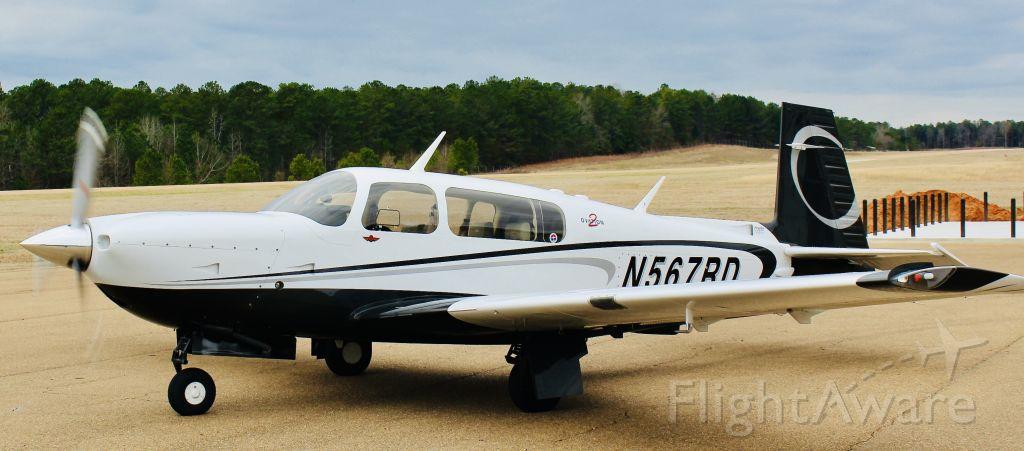 Mooney M-20 (N567RD) - At KOSX airport