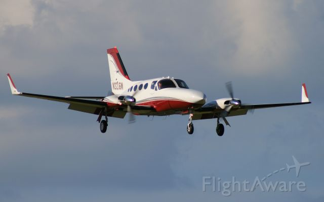 Cessna Chancellor (N3216M) - Cessna 414 on short final for 19 at Lebanon, TN (M54)