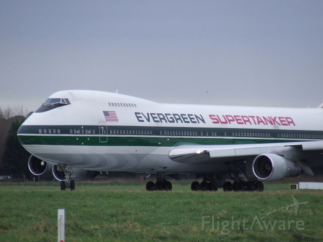 Boeing 747-200 (N470EV) - The Evergreen Supertanker