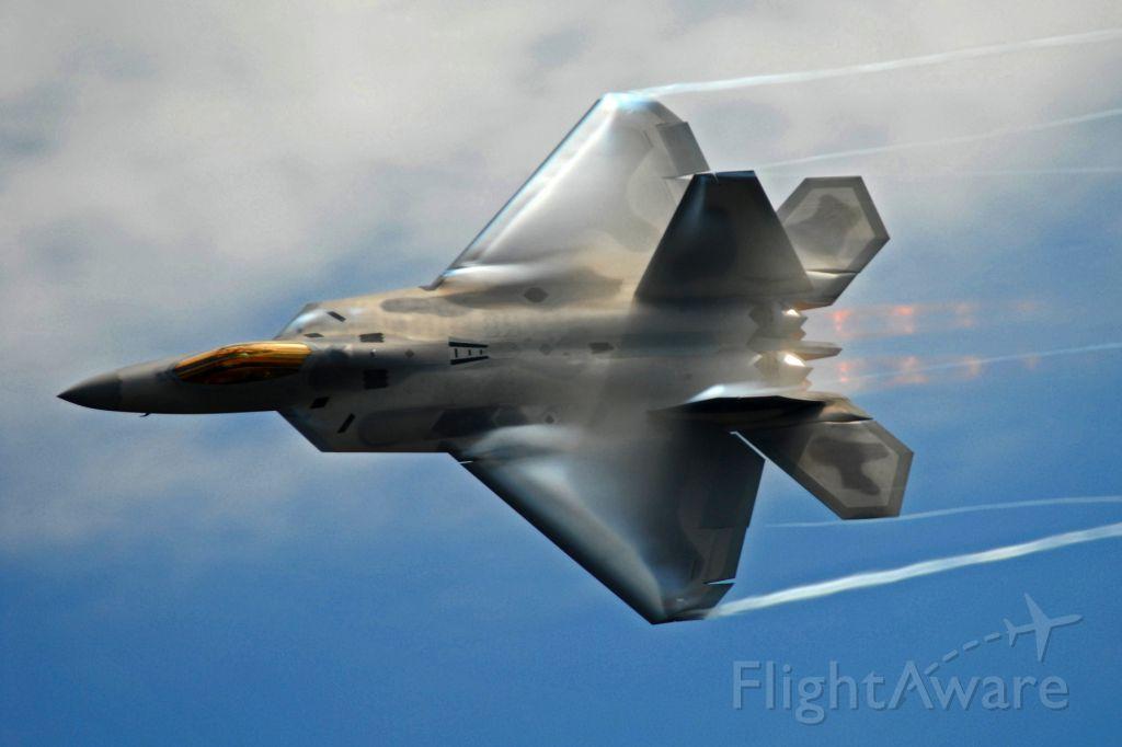 Lockheed F-22 Raptor — - 2009 RI National Guard Open House, F-22