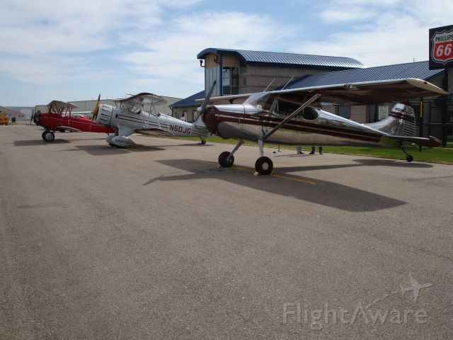 Cessna 170 (N1258D) - Weekend ramp at GXY for the $100 hamburger