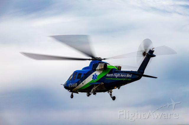 Sikorsky S-76 (N764AM) - AeroMed 3 departing KGRR