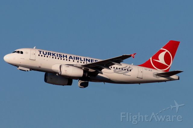 Airbus A319 (TC-JLS)