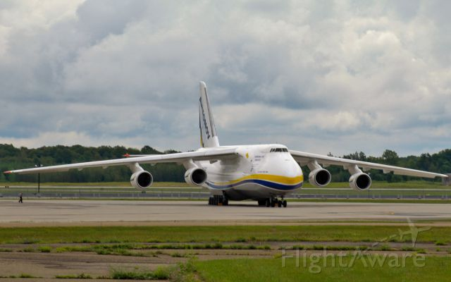 Antonov An-124 Ruslan (UR-82029) - An AN124 sits at Mirabel.