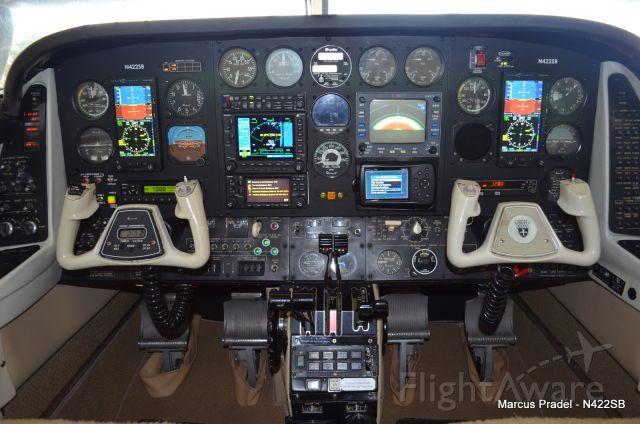 Beechcraft Duke (N422SB) - Panel Design and Install work done by Sarasota Avionics
