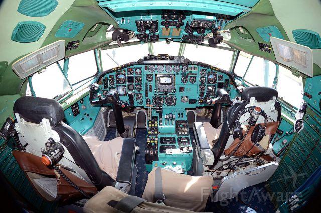 P-561 — - Air Koryo Tu154-B2 cockpit at PNJ