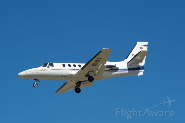 Cessna Citation 1SP (XB-IXT) - Landing 30L KHOU