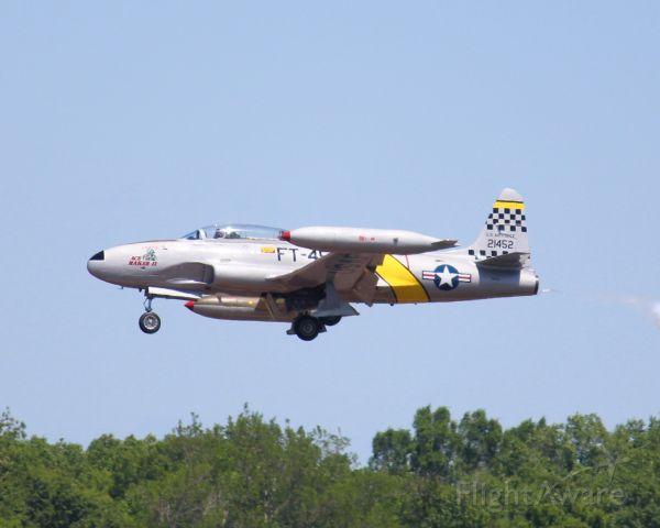 Lockheed T-33 Shooting Star (N133HH) - At Barksdale Air Force Base.