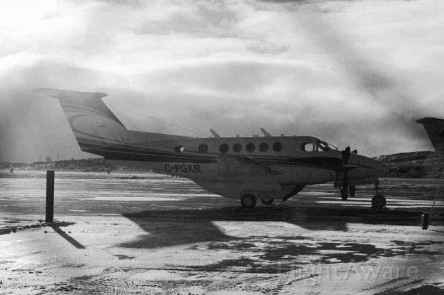 Beechcraft Super King Air 200 (C-FGXR) - Halloween Day in Iqaluit, Nunavut Very cool day.