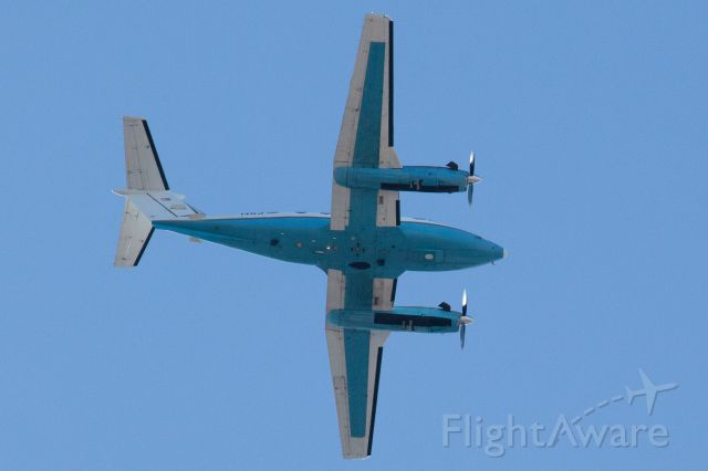 Beechcraft Super King Air 300 (N83) - Plane circled my location (78757 zip code) about 6 times.