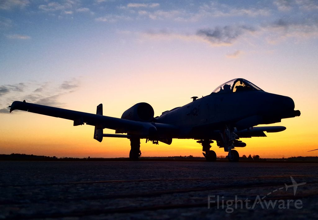 Fairchild-Republic Thunderbolt 2 — - A-10 taken at 2017 Airshow London, in Ontario Canada