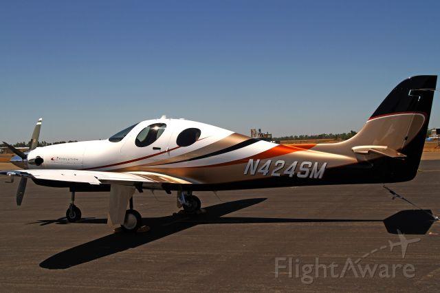 Lancair Evolution (N424SM) - Yuba County Airport